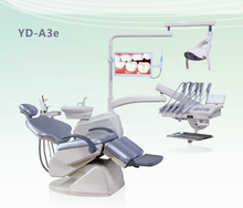 Hot Sale Top Mounted Dental Chair Unit with ceramic spittoon YD - A3e
