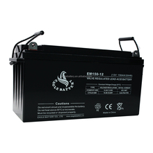 12V 150ah Maintenance Free Sealed Lead Acid Battery