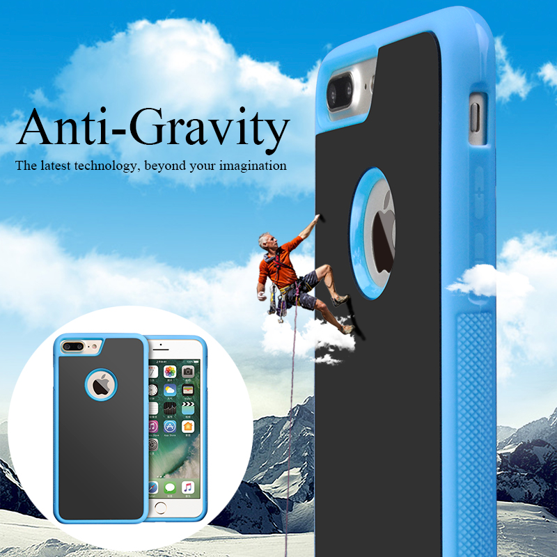 The Best China Nano Suction Sticky Phone Case Widely Used for iphone 6 /6s 6plus / 7 plus / for samsung note 3 4 5 7