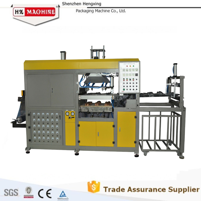Full Automatic Vacuum Forming Thermoforming Machines Kits for Plastic Packing Industry