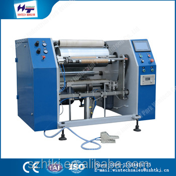 Continued hot Plastic Packaging Machines film slitting machine