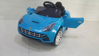 Electric Toy Car for Kids to Drive Ferrarrier Style