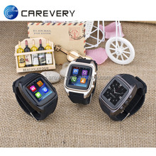 Cell phone watch android with sim card slot, wifi 3g dual core android smart watch phone