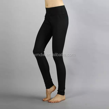 black Long Yoga Pants Women Bodybuilding Clothing