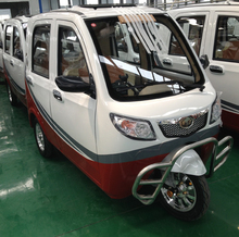 5 doors 3 seats tricar with battery charging power steel material body 1000w motor