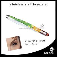 wholesale tweezers/prety women automatic eyebrow tweezers