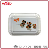 large melamine tray hard plastic cement tray wedding gifts for guests