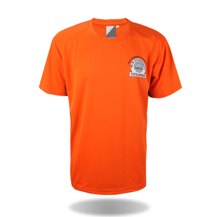 Plain cheap <strong>orange</strong> men's t shirt wholesale china