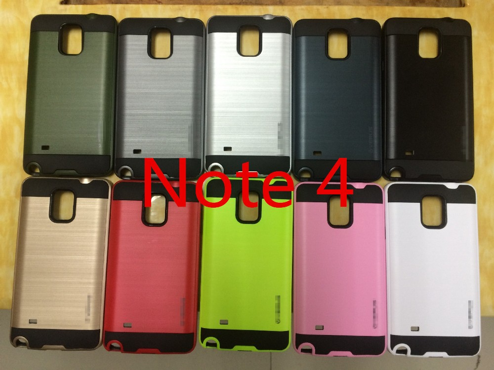 Wholesale Luxury Neo Hybrid TPU + PC Slim Armor Case For Samsung Galaxy Note4/Note3