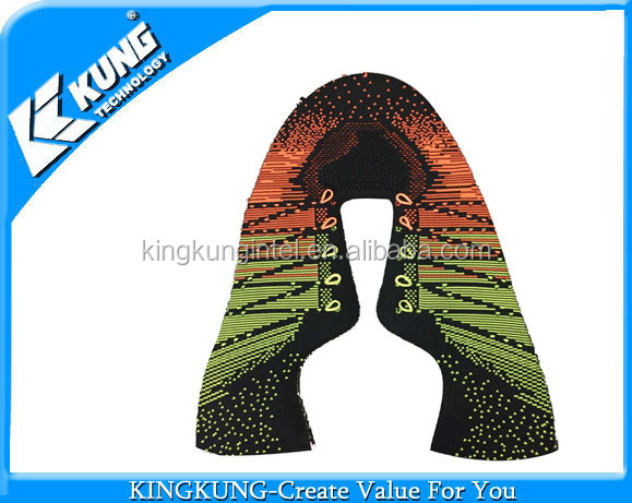 Fashion shoes man upper with fly knitting material