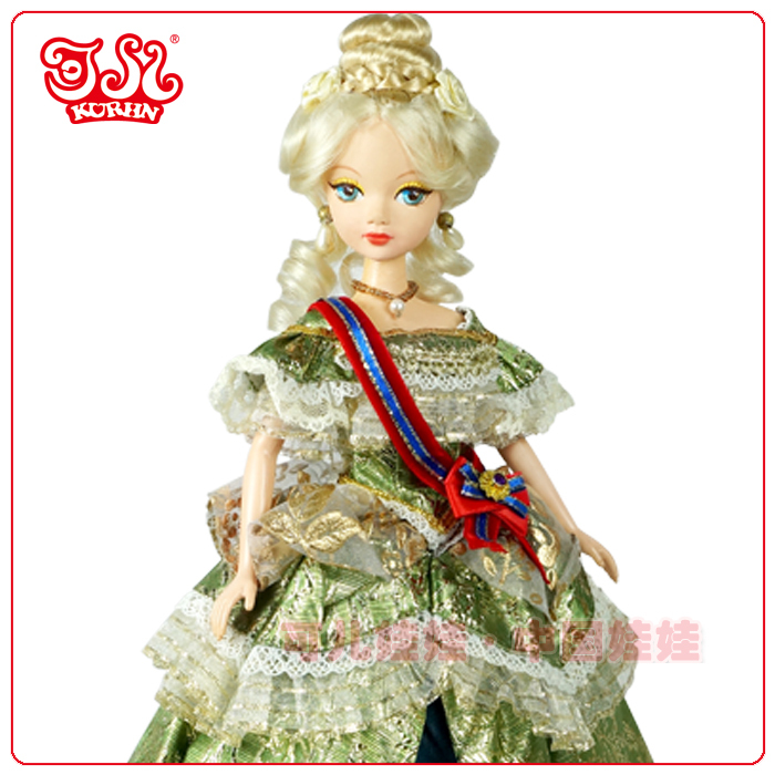 11'' or 11.5'' girl doll fashion princess vinyl doll