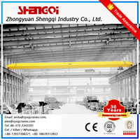 High Standard Assembly Workshop 5 Ton Single Beam Head Over Crane With Hook