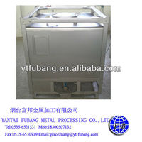 Stainless steel diesel fuel storage tank(hazardous fluid)