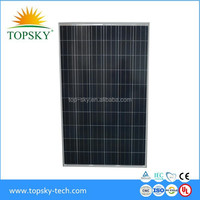 2015 A Grade and Beautiful Poly Solar Panel 245W-265W in Hot Sale with Discount for Greeting coming of Christmas