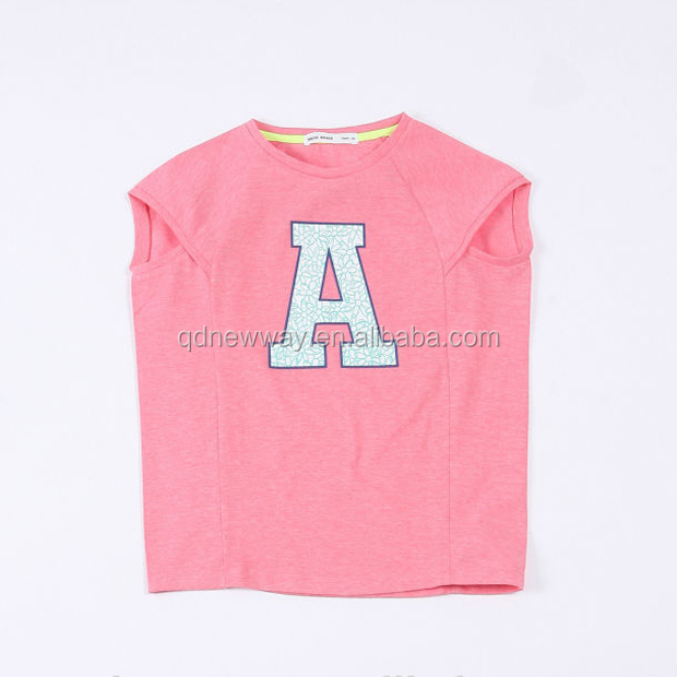 Children's Letter Printed Pattern Clothing