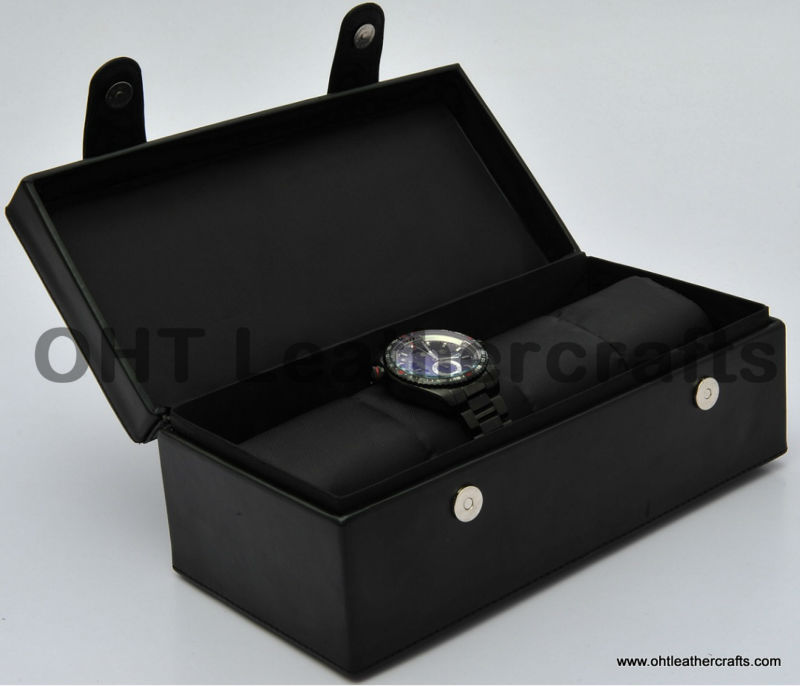 Leather/PVC Leather Watch Box