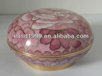 Chinese Cloisonne Jewel Dish/Memory Holder for Dead People and Pets(cloisonne no. P103MH)