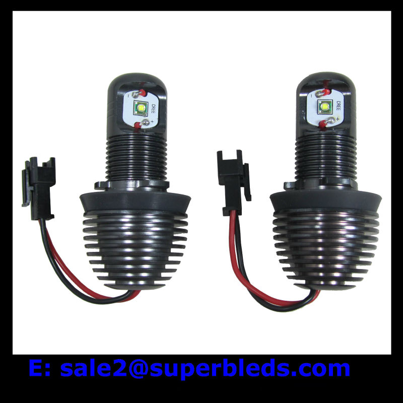 H8 10W car led angel eyes fit for E90 E92 E87 E93 E60 E61