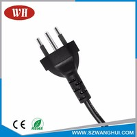 Factory Promotion Price Free Sample Bc/Ccc/Cca/Ccs Pvc Computer Power Supply Ac Cord