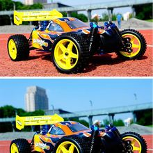 2013 High Speed 1/10 Scale 4WD Spirit N1 RC Off-Road Nitro Buggy Model Cars