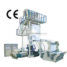 Germany quality PE ABA plastic film blowing machine for garbag bag