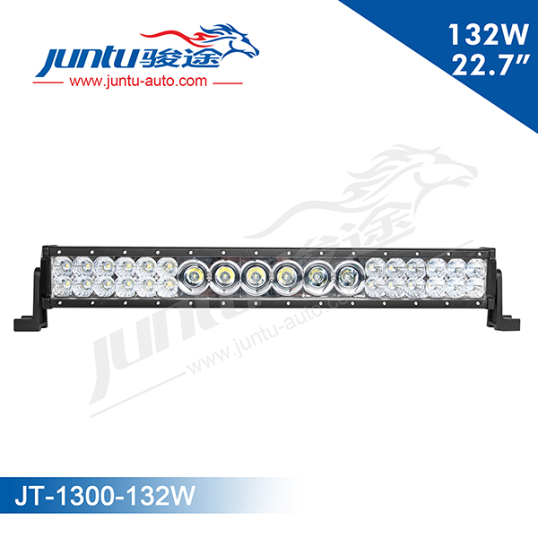 "New product combo 3w & 10w chip 22.7"" 132w led car combo light bar"