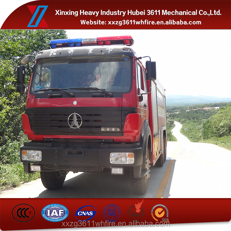 China Supplier Emergency Rescue 10000L Drinking Water Tanker Truck