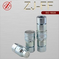 ZJ-FF steel flat face hydraulic quick release couplings ISO16028