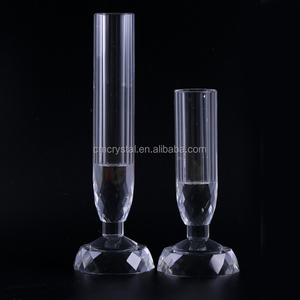 Event table decoration vase sets crystal