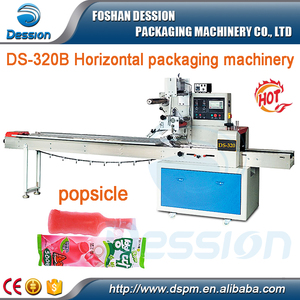 Horizontal Automatic Ice Candy / Popsicle / ice lolly Packing Machine