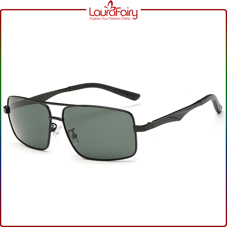 Laura Fairy Gentleman'S Sunglasses Latest Models Black Frame Retro Man Sun Glasses