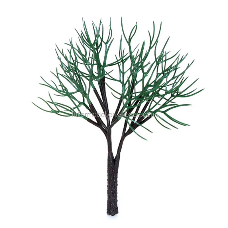 Plastic architectural scale model tree trunk artificial tree