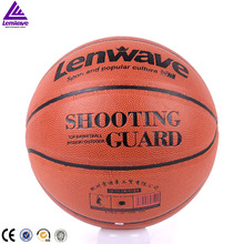 Lenwave brand Match Play PU basketball wholesale