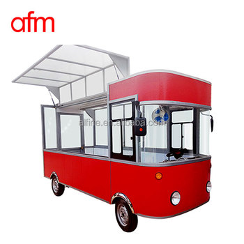 Popular mobile bakery food cart for sale