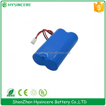 li-ion battery pack 18650 4400mah 3.7V samsung icr18650-22f 2200mah