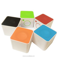 Mini Portable Magic Cute Cube Shaped Bass Bluetooth Wireless Handsfree NFC Stereo Speaker