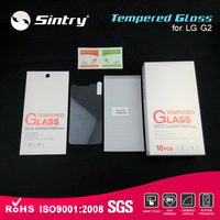 In stock anti glare screen protector 5.2'inch 9H tempered glass screen protector for LG G2