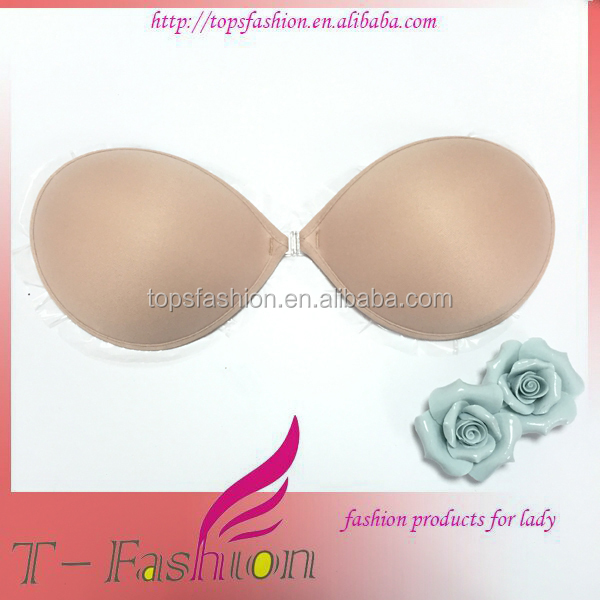 Direct supplying new light purple model bra with adhesive glue