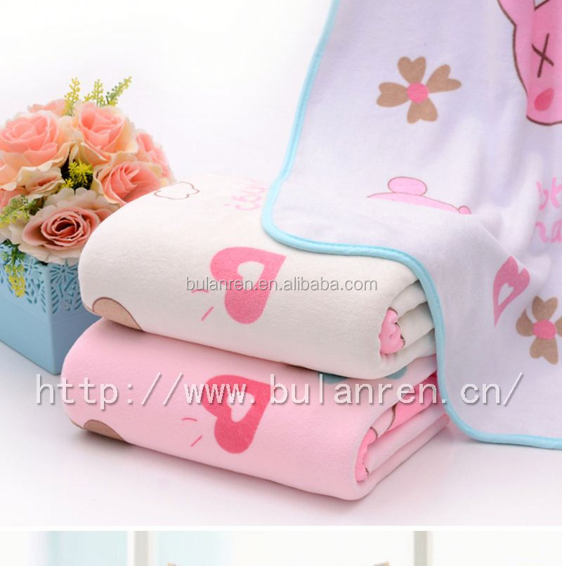 Customized high quality b grade cotton towel