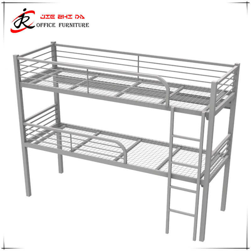 cheap double deck iron bed used kids children bunk bed for sale
