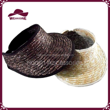 high quality and new fashion straw visor