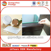 Silicone glass cushion pads