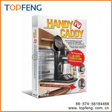 handy caddy / coffee and tea caddy / tin tea caddy