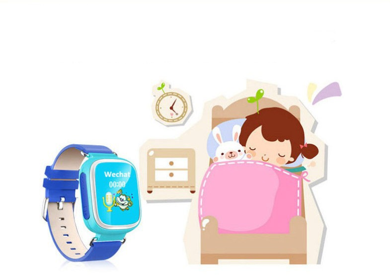 2017 New wrist watch gps tracker kids watch phone for kids with Cartoon Theme