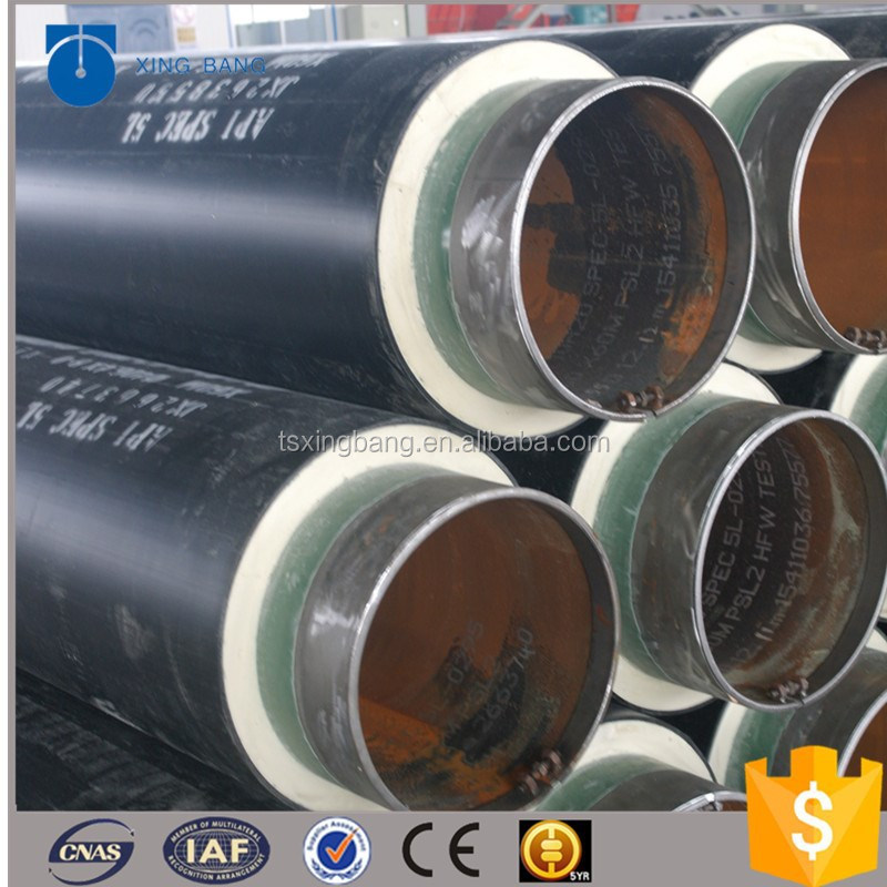 high quality insulation pipe with polyurethane foam insulation material for Australia underground pipeline systems