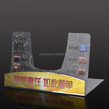 Full Color Plastic Sheet Printed PVC Display Stand for Retail Stores