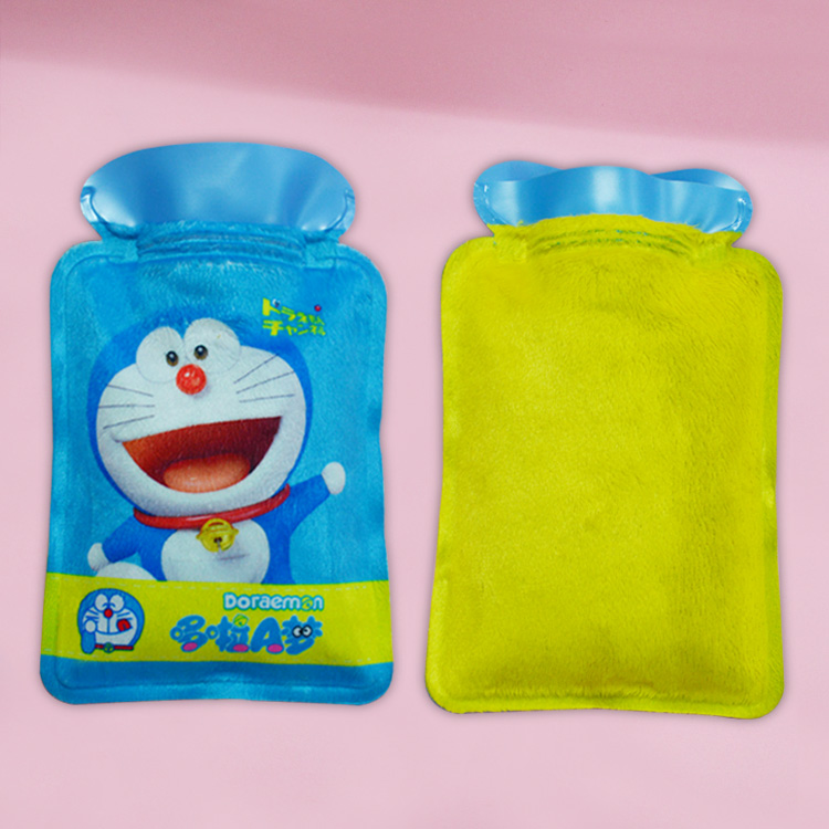 Cheap price rubber hot water bottle bag with cover from china