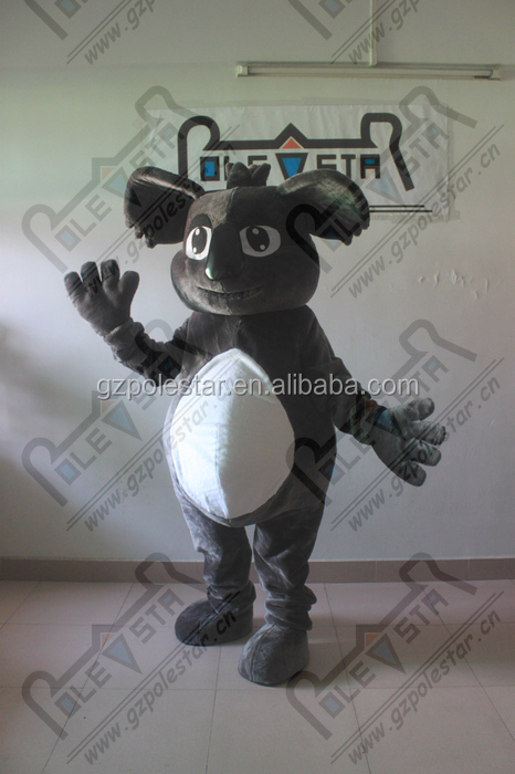 custom plush squirrel mascot costumes smile face animals costumes