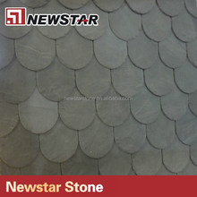 Chinese European standard split fish scale slate roof tiles