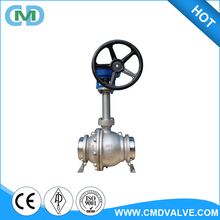 Long Stem Cryogenic Gear Operated Control BW 8 inch 150LB CF8M Ball Valve